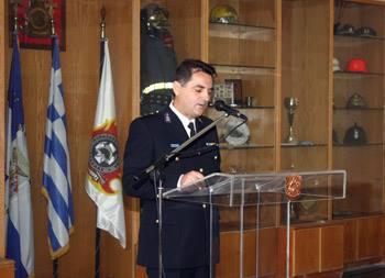 Νέος διοικητής της Πυροσβεστικής Υπηρεσίας Καλαμάτας ο πύραρχος Κωνσταντίνος Θεοφιλόπουλος