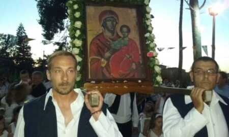 Εορτασμός της Παναγίας της Βλαχέρνας στα Φιλιατρά