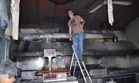 Αναστάτωση από φωτιά στο Εστιατόριο του ΝΟΚ