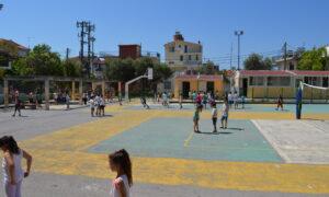 Ανοιχτά και φέτος το καλοκαίρι τα προαύλια των σχολείων