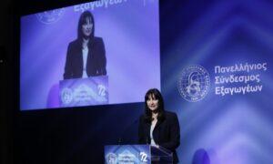 Έλενα Κουντουρά: Υψηλές επιδόσεις σε αφίξεις, επενδύσεις και απασχόληση