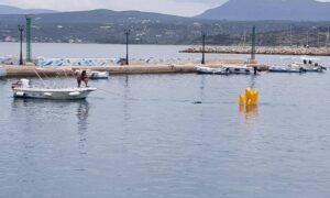 Άσκηση αντιμετώπισης θαλάσσιας ρύπανσης από πετρελαιοκηλίδα στην Πύλο