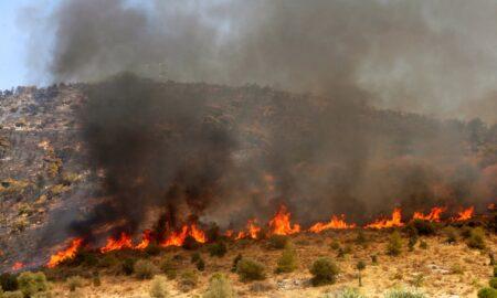 Πυρκαγιά στο Ασπρόχωμα