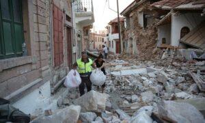 90 μετασεισμοί έως 5 ρίχτερ στη Λέσβο -Σε κατάσταση έκτακτης ανάγκης το νησί μετά τον φονικό σεισμό