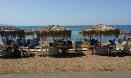 Το αδιαχώρητο σήμερα στις παραλίες της Μεσσηνίας