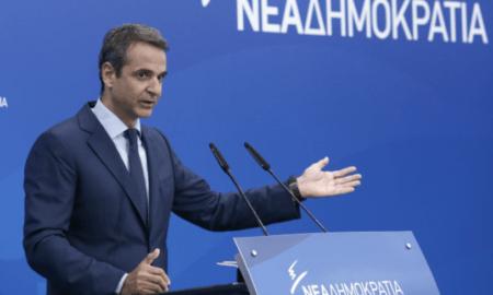 """Μητσοτάκης: """"Πολιτική παράγκα οι Τσίπρας-Καμμένος, καταλύουν το κράτος δικαίου"""""""