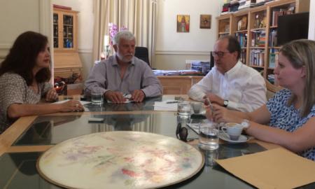 Συνάντηση Νίκα-Τατούλη για βιώσιμη αστική ανάπτυξη και ΕΣΠΑ