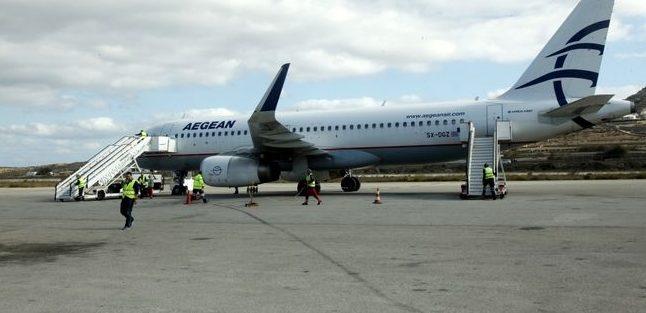 Αλευράς: Αναβάθμιση του αεροδρομίου χωρίς ιδιωτικοποίηση ή  παραχώρηση
