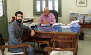 Επιμελητήριο Μεσσηνίας: Συνάντηση Μανιάτη με Ισπανό εκπρόσωπο για επενδύσεις