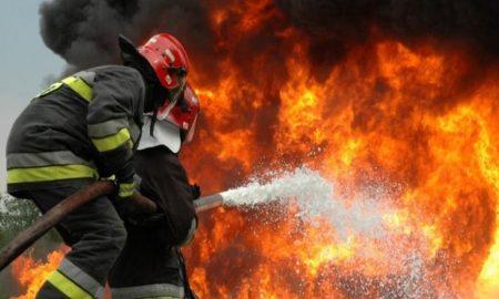 Πυρκαγιά στην Καλίτσαινα Κυπαρισσίας
