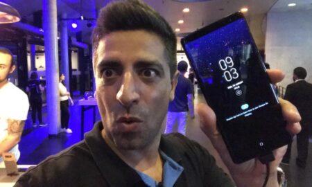 O K. Βλαχάκης παρουσιάζει το Samsung Galaxy Note 8 από το Βερολίνο