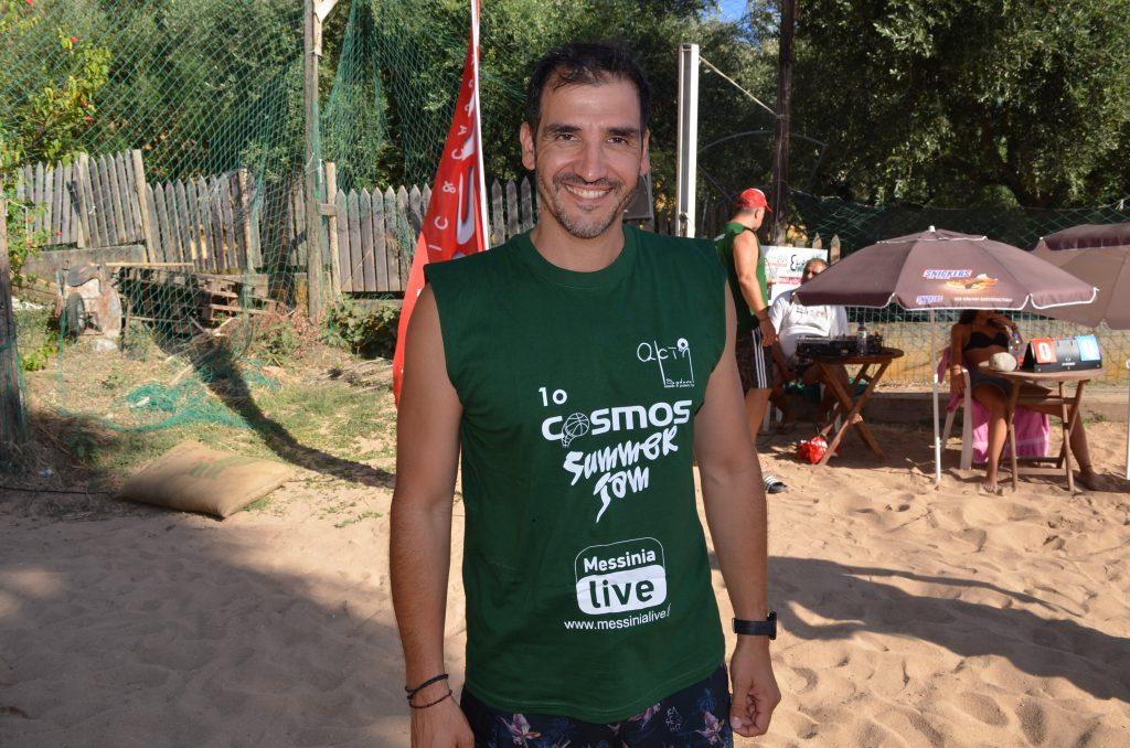Κ. Χατζηχρήστος: ο γυμναστής της ΤΣΣΚΑ στην Καλαμάτα