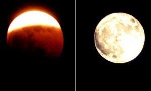 Αυγουστιάτικη πανσέληνος και μερική έκλειψη Σελήνης ταυτόχρονα απόψε!