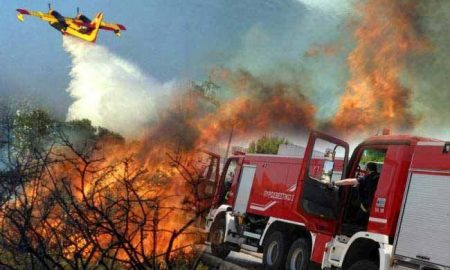Υάμεια: Μαίνεται το μέτωπο της φωτιάς – 200 στέμματα έχουν ήδη καεί!