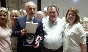 Η Μεσσηνιακή Αμφικτυονία τίμησε τον Σάκη Θεοδωρόπουλο