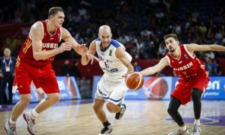 Λύγισε από την κούραση η Εθνική, ηττήθηκε 74-69 από τη Ρωσία (VIDEO)
