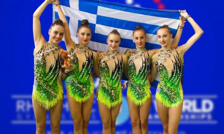 Η Ελλάδα και η Μυρτώ μας, στο παγκόσμιο της ρυθμικής στο Πέζαρο