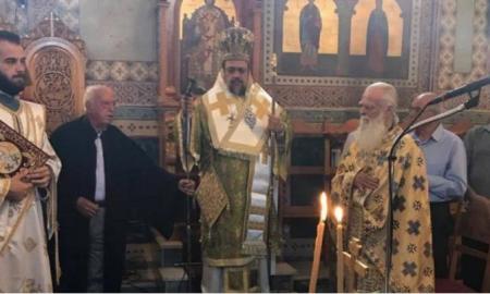 Μεσσηνίας Χρυσόστομος: «Οδηγός μας ο Τίμιος Σταυρός»