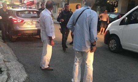 Μαχαιρώματα και πυροβολισμοί στη Μακεδονίας – Αλλοδαπός επιτέθηκε με μαχαίρι και τραυμάτισε 3 αστυνομικούς της ΔΙ.ΑΣ. (VIDEO)