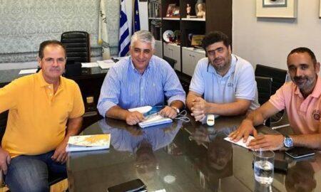 Συνάντηση Καφαντάρη με την διοίκηση του ΚΤΕΛ Μεσσηνίας