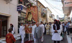 Λαμπρός εορτασμός της Μυρτιδιώτισσας στην Πύλο