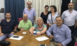 Συνάντηση εργασίας με τον Εμπορικό Σύλλογο Καλαμάτας είχε ο Γ.Γκούμας