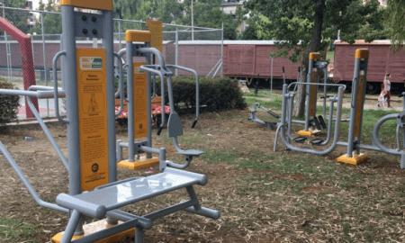 Υπαίθριο Γυμναστήριο στο Πάρκο της Καλαμάτας!