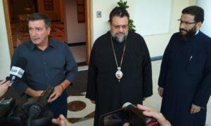 Στον Μητροπολίτη Μεσσηνίας ο Δήμαρχος Αθηναίων Γ. Καμίνης