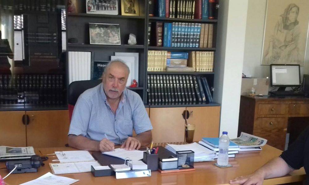 Υποψήφιος ξανά ο Δήμαρχος Δυτικής Μάνης Γιάννης Μαραμπέας