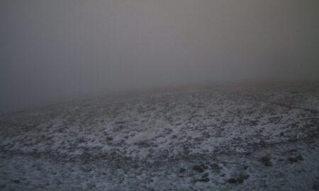 Χιόνισε στον Όλυμπο!