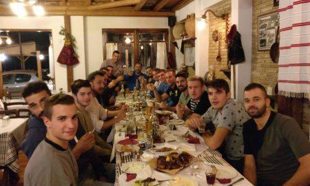 Kalamata BC: δείπνο σύσφιξης σχέσεων πριν το ματς με την Θουρία