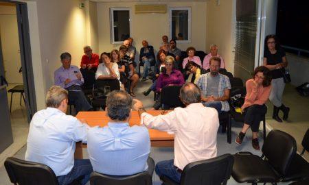 Συνεδρίασε η Επιτροπή Αγώνα κατά των πλειστηριασμών