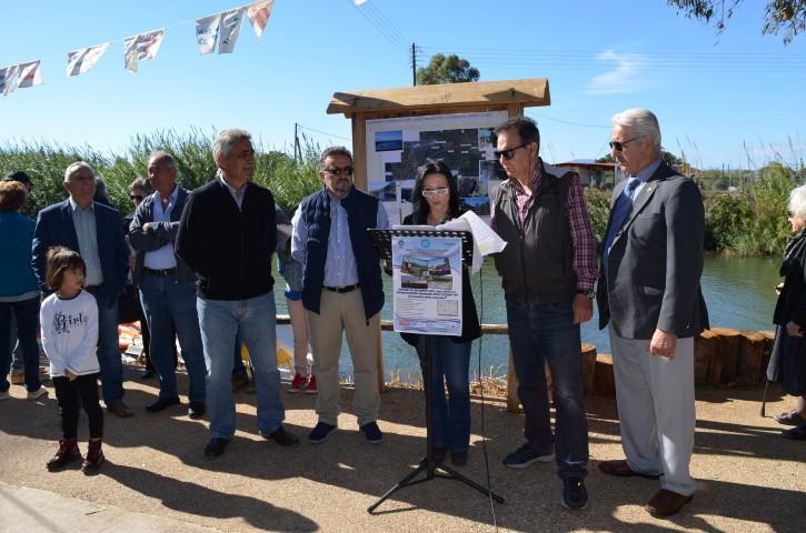 Εγκαινιάστηκε ο ποδηλατόδρομος στα Ακοβίτικα