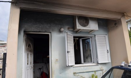Έμπρακτη στήριξη του Δήμου Καλαμάτας στην τρίτεκνη οικογένεια που κάηκε το σπίτι της