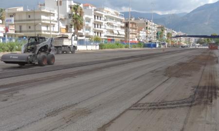 Ξεκίνησαν οι εργασίες για νέο ασφαλτοτάπητα στο Λιμάνι Καλαμάτας