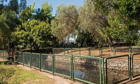 Συντήρηση στο πάρκο του Αλμυρού από το Praktiker