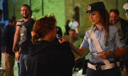 """""""Οδήγηση χωρίς αλκοόλ"""": Φιλικά αλκοτέστ σε πολίτες απόψε στην πλατεία 23ης Μαρτίου"""
