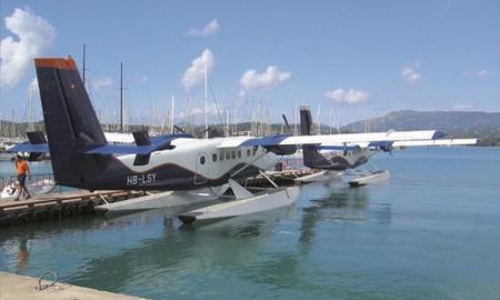 Ξεκίνησαν οι δοκιμαστικές πτήσεις υδροπλάνων στην Ελλάδα