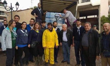 Ο Δήμος Οιχαλίας απέστειλε φορτίο αλληλεγγύης στους κατοίκους της Μάνδρας