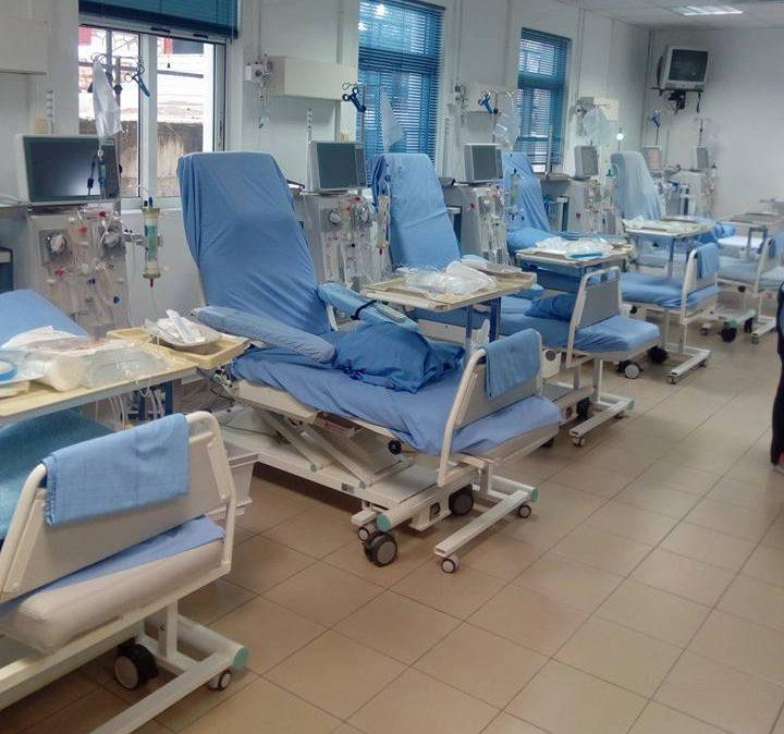 Noσοκομείο Κυπαρισσίας: Ανακαινίστηκε η Μονάδα Τεχνητού Νεφρού