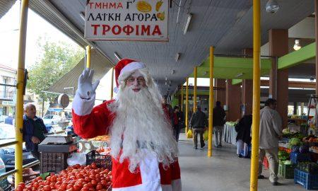 1η Δεκεμβρίου ανάβει το Χριστουγεννιάτικο δέντρο στην Κεντρική Αγορά