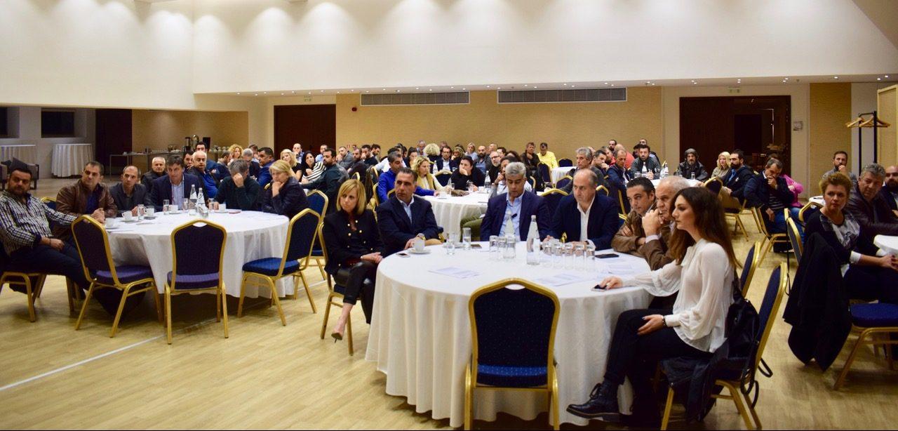 """Συνάντηση των υποψηφίων του συνδυασμού """"Νέο Επιμελητήριο"""" Μεσσηνίας"""
