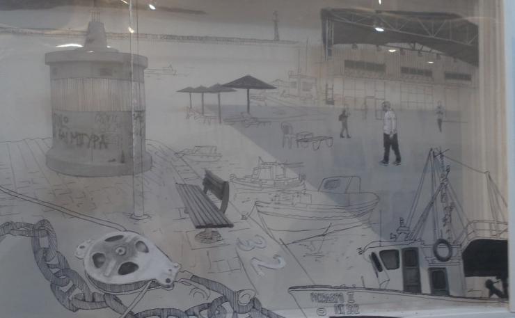 Κέντησαν, σκιτσάρισαν, ζωγράφισαν την Καλαμάτα οι σπουδαστές της Σχολής Καλών Τεχνών