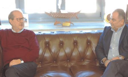 Ο Γιώργος Γκούμας στο Δημαρχείο Καλαμάτας- Συνάντηση με Νίκα
