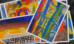 """Καλλιτεχνικές δημιουργίες των μαθητών της """"ΦΑΡΙΣ"""""""