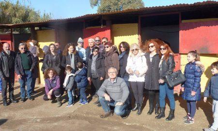 """Ο Σύλλογος Πεζοπόρων Ορειβατών Καλαμάτας """"Ευκλής"""" επισκέφθηκε τον Ιππικό Όμιλο Καλαμάτας"""