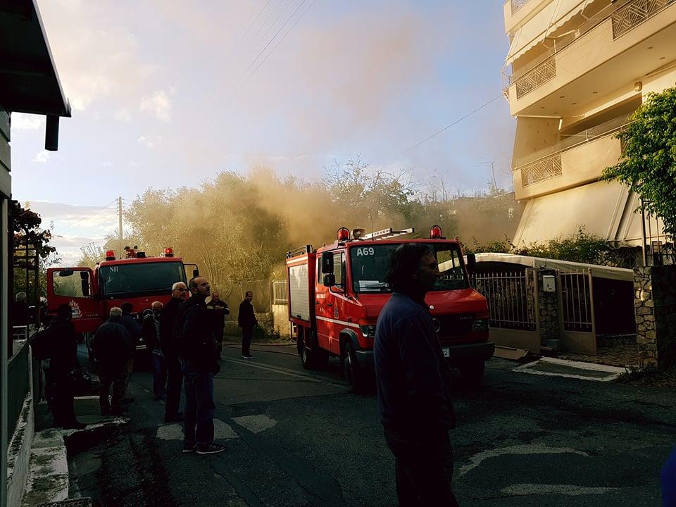 Φωτιά σε υπόγειο τριώροφης κατοικίας στην οδό Σπάρτης