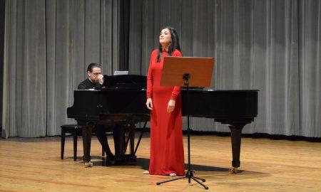 Εξαιρετική συναυλία από την σοπράνο Άρτεμη Μπόγρη