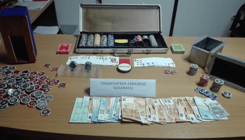Συνελήφθησαν 12 άτομα για παράνομα τυχερά παιχνίδια στη Μεσσήνη