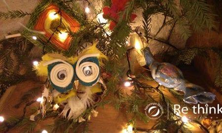 Aγρόκτημα Φοίφα: χριστουγεννιάτικα στολίδια από ανακυκλώσιμα φυτικά υλικά